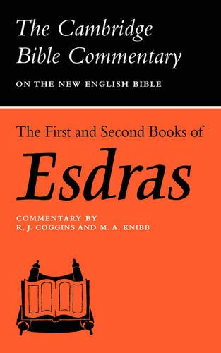 9780521097574: The First and Second Books of Esdras (Cambridge Bible Commentaries on the Apocrypha)