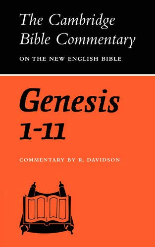 9780521097604: Genesis 1-11 (Cambridge Bible Commentaries on the Old Testament)