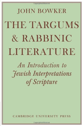 9780521097710: The Targums and Rabbinic Literature: An Introduction to Jewish Interpretations of Scripture