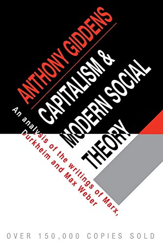 9780521097857: Capitalism and Modern Social Theory: An Analysis of the Writings of Marx, Durkheim and Max Weber