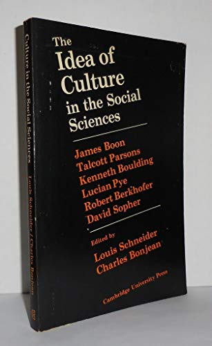 The Idea of Culture in the Social Sciences: Schneider