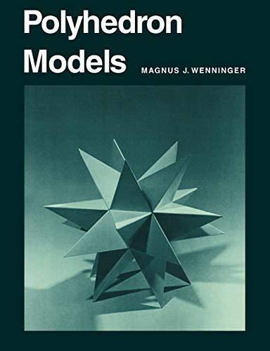 9780521098595: Polyhedron Models