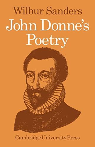 9780521099097: John Donne's Poetry