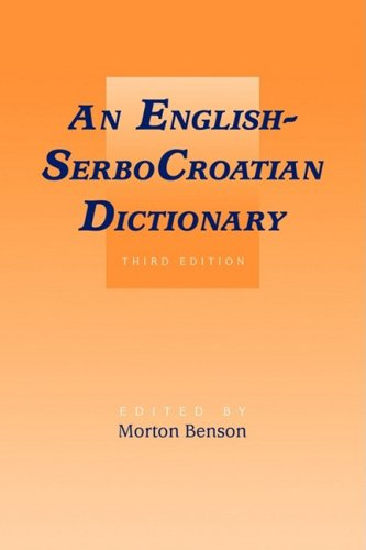 9780521099219: English-SerboCroatian Dictionary