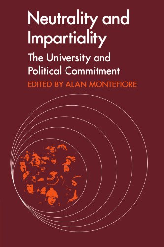 Neutrality and Impartiality: The University and Political: Andrew Graham, Leszek