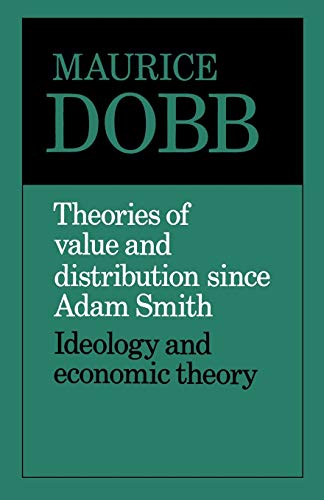 9780521099363: Theories of Value and Distribution