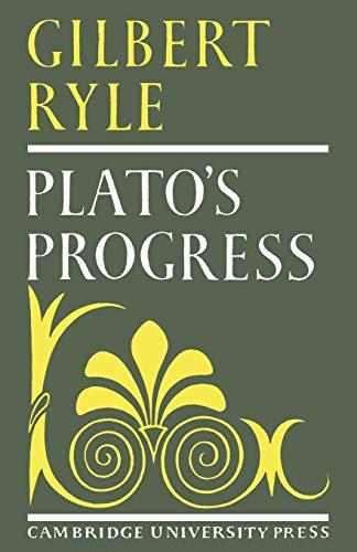 9780521099820: Plato's Progress