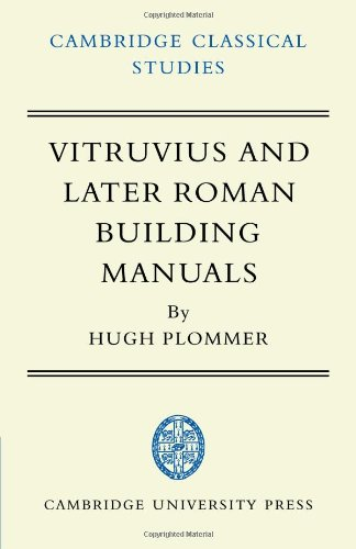 9780521100380: Vitruvius and Later Roman Building Manuals