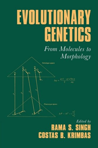 9780521100809: Evolutionary Genetics: From Molecules to Morphology