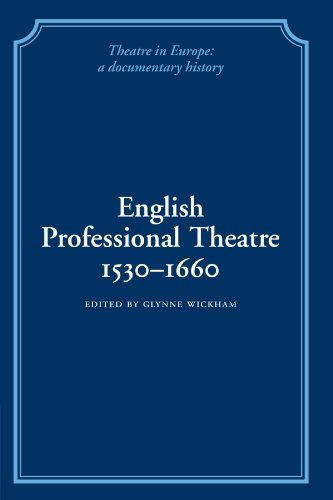9780521100823: English Professional Theatre, 1530-1660 (Theatre in Europe: A Documentary History)