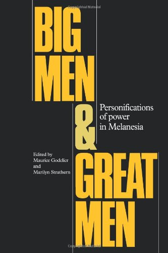 9780521102292: Big Men and Great Men: Personifications of Power in Melanesia