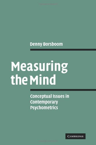 9780521102841: Measuring the Mind: Conceptual Issues in Contemporary Psychometrics