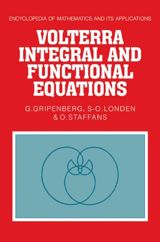 9780521103060: Volterra Integral and Functional Equations (Encyclopedia of Mathematics and its Applications)