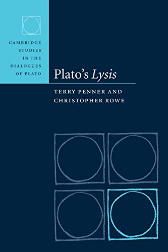 9780521103190: Plato's Lysis (Cambridge Studies in the Dialogues of Plato)