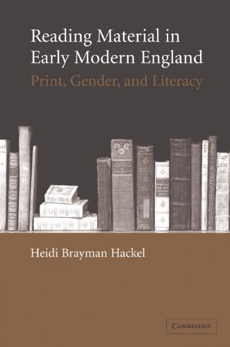 9780521104159: Reading Material in Early Modern England: Print, Gender, and Literacy