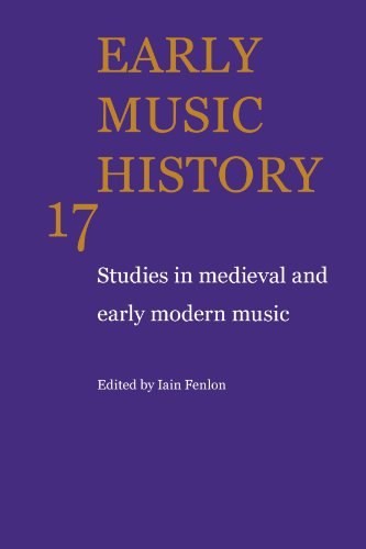 9780521104425: Early Music History: Studies in Medieval and Early Modern Music