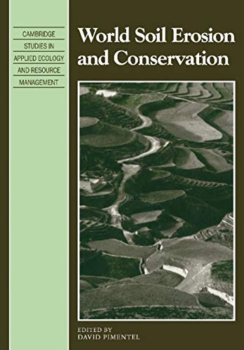 9780521104715: World Soil Erosion and Conservation (Cambridge Studies in Applied Ecology and Resource Management)