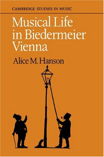 9780521104845: Musical Life in Biedermeier Vienna (Cambridge Studies in Music)