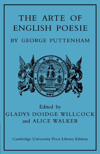 9780521104890: The Arte of English Poesie