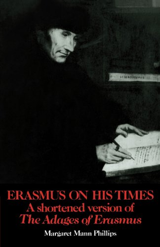 9780521104920: Erasmus on His Times: A Shortened Version of the 'Adages' of Erasmus