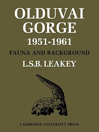 9780521105170: Olduvai Gorge (Olduvai Gorge 5 Volume Paperback Set)