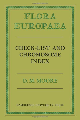 9780521105736: Flora Europaea Check-List and Chromosome Index