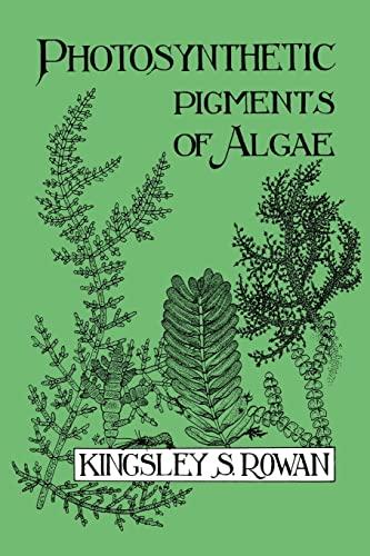 9780521105941: Photosynthetic Pigments of Algae
