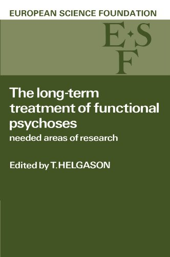 9780521106108: The Long-Term Treatment of Functional Psychoses: Needed Areas of Research