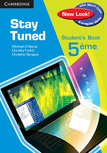 9780521106429: Stay Tuned Student's Book for 5eme