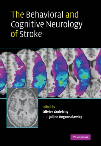 9780521106955: The Behavioral and Cognitive Neurology of Stroke