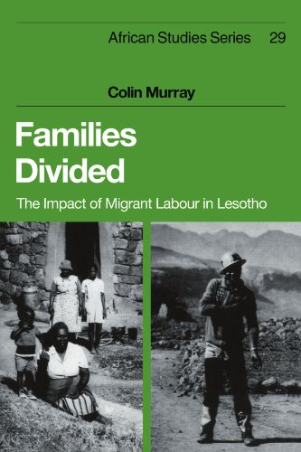 9780521107099: Families Divided: The Impact of Migrant Labour in Lesotho (African Studies)