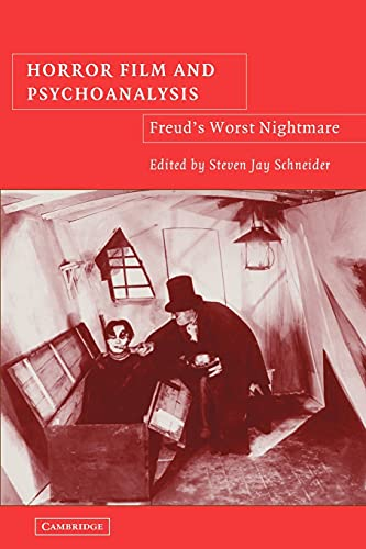 9780521107853: Horror Film and Psychoanalysis: Freud's Worst Nightmare