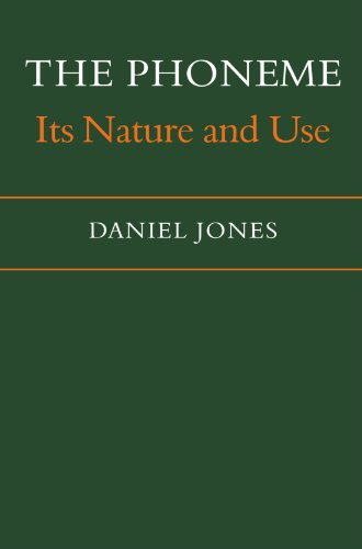 9780521108072: The Phoneme: Its Nature and Use