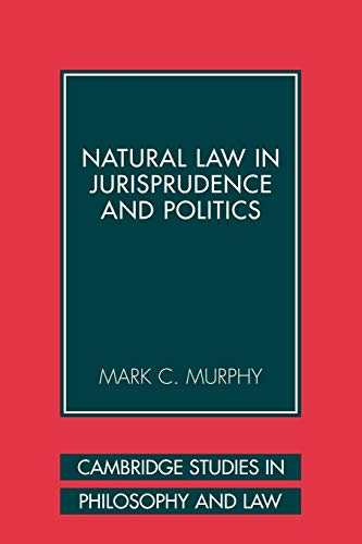 9780521108089: Natural Law in Jurisprudence and Politics