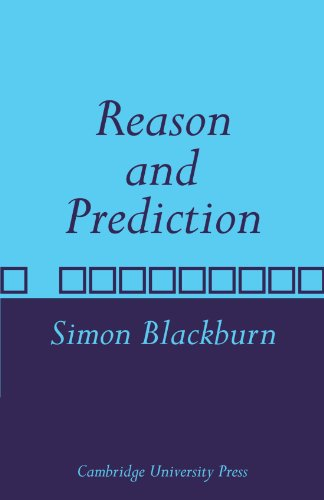 9780521108225: Reason and Prediction