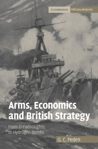 9780521108386: Arms, Economics and British Strategy: From Dreadnoughts to Hydrogen Bombs (Cambridge Military Histories)