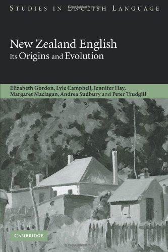 9780521108959: New Zealand English: Its Origins and Evolution (Studies in English Language)