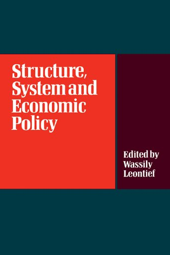 9780521109062: Structure, System and Economic Policy