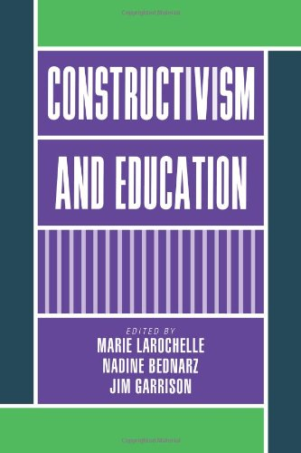 9780521109604: Constructivism and Education