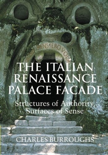 9780521109734: The Italian Renaissance Palace Facade: Structures of Authority, Surfaces of Sense (Res Monographs in Anthropology and Aesthetics)