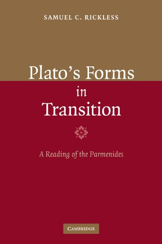 9780521110488: Plato's Forms in Transition: A Reading of the Parmenides