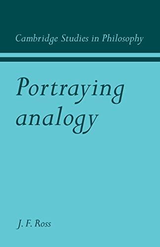 9780521110860: Portraying Analogy (Cambridge Studies in Philosophy)