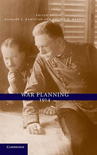 9780521110969: War Planning 1914