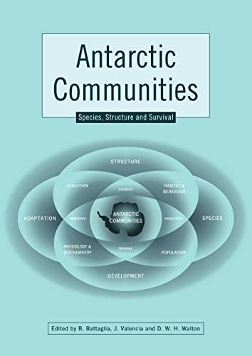 9780521111799: Antarctic Communities: Species, Structure and Survival