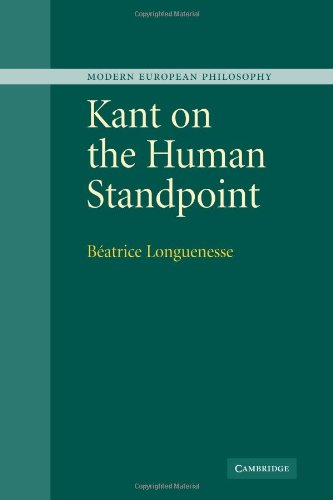 9780521112185: Kant on the Human Standpoint (Modern European Philosophy)