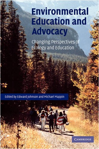 9780521112390: Environmental Education and Advocacy: Changing Perspectives of Ecology and Education
