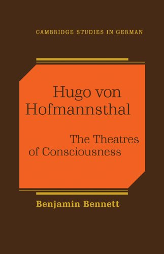 9780521112529: Hugo von Hofmannsthal: The Theaters of Consciousness