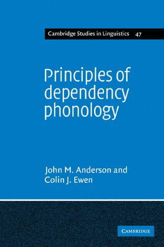9780521113236: Principles of Dependency Phonology (Cambridge Studies in Linguistics)