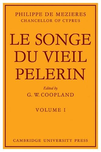 9780521113472: Le Songe Du Vieil Pelerin