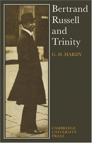 9780521113922: Bertrand Russell and Trinity
